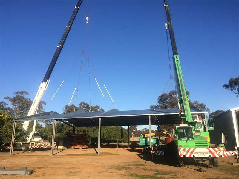 Ballarat Crane Hire and Rigging Services - CBW Ballarat Central Victoria